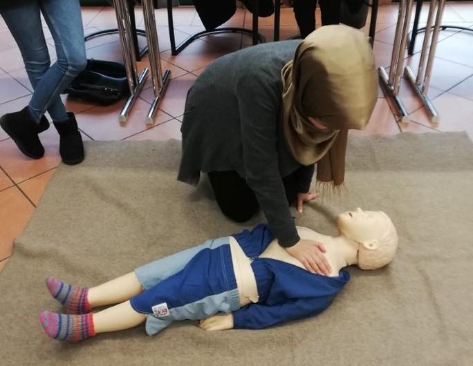 Mütterschulung: Erste Hilfe am Kind